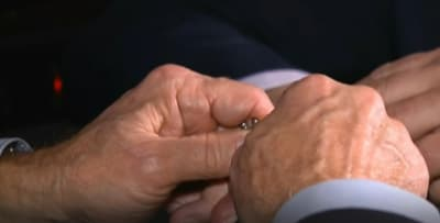 Rosario Joe Biden, virgen, presidente electo