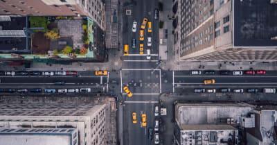 Ciudad de Nueva York 5ª avenida vertical