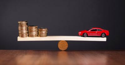 Financiación sólida de el precio de automovil