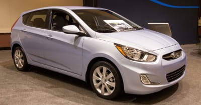 Hyundai Accent SE at the Jacksonville Car Show on