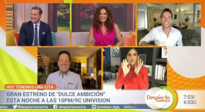 Karla Martínez y Alan Tacher regresan a Despierta América tras el coronavirus, pero se impresionan por el aspecto de ella
