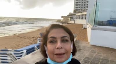 María Antonieta Collins de Univisión termina en el hospital