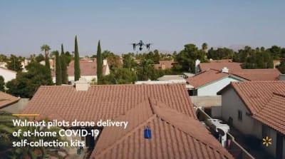 Walmart usa drones
