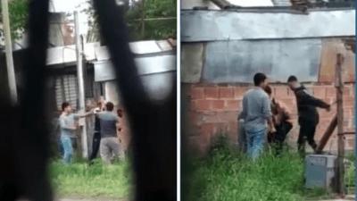 Crónica: Ladrón pedía piedad... pero igual le dieron brutal paliza (FOTOS)