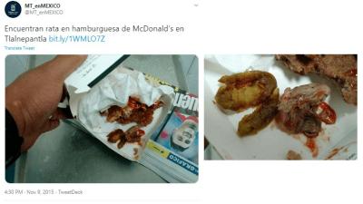 Curioso: Cosas asquerosas en McDonald's de la gente (VIDEO y FOTOS)