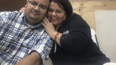 Ubaldo Clemente despedir esposa