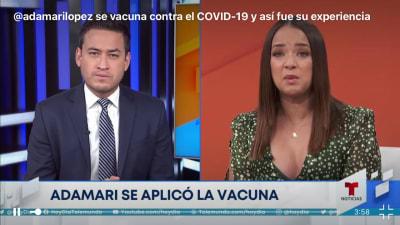 Adamari López vacuna