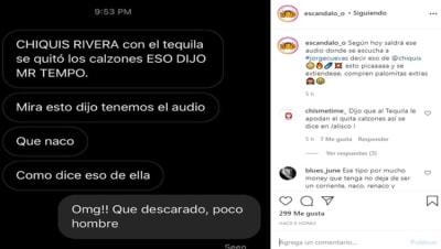 Conductor mexicano llama gorda a Chiquis Rivera Daniel Bisogno