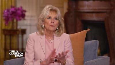 Jill Biden Divorcio, primera Dama, esposa Biden, entrevista
