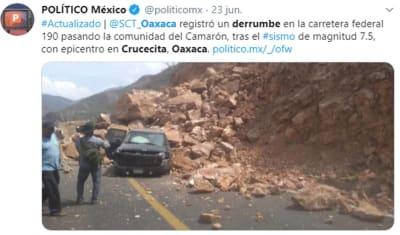 Sismo Ciudad Hidalgo