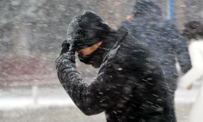 Tormenta de nieve afectará a 20 estados con fuertes vientos y lluvias en Año Nuevo