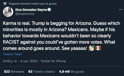 Eiza González Trump 1 Arizona