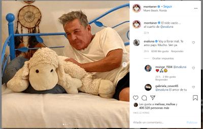 Ricardo Montaner en lágrimas