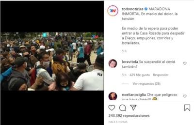 Últimas palabras Maradona 2