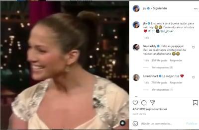 Jennifer López JLo contenta riendo separación Alex Rodríguez