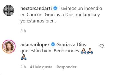 Tras ser despedido de Telemundo, Héctor Sandarti se lleva sustazo por incendio en Cancún