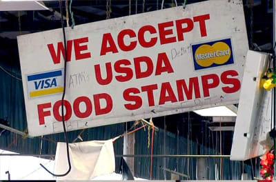 Crónica fraude estampillas comida