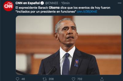 Obama toma Capitolio