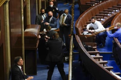 Sospechosos Ataque Capitolio