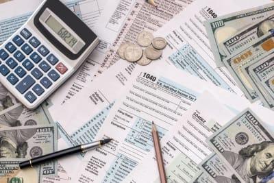 Impuestos Pago de cheque