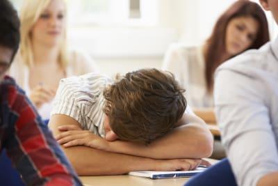 adolescentes que no duermen