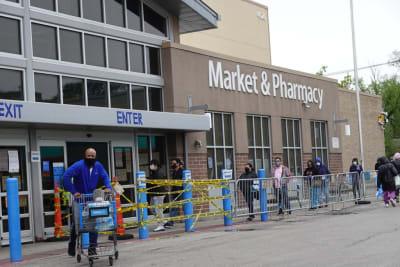 Walmart vacuna coronavirus, minorista
