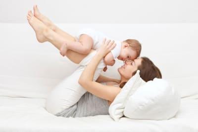 Mamás felices, bebés felices