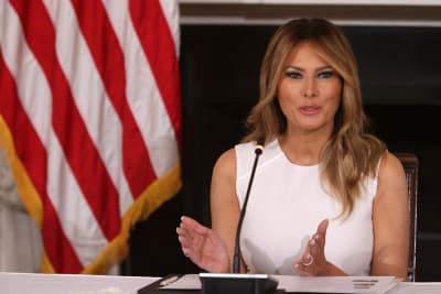 Melania Trump rompe tradición, primera dama tradición, Jill Biden,. Casa Blanca