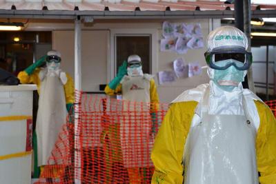 Ébola Muertos Guinea, brote