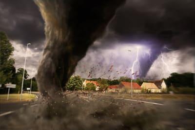 amenaza de clima severo