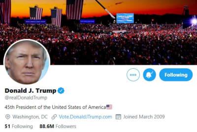 Twitter advertencia publicaciones Donald Trump