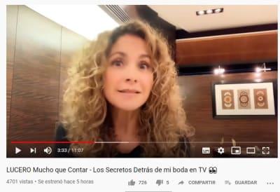 Lucero desmiente que haya tenido contrato con Mijares