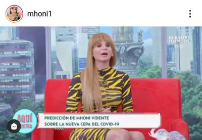 Predicción cumplida de Mhoni Vidente sobre la salud de AMLO