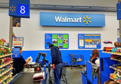 Walmart cheque