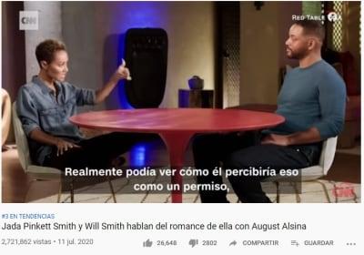 Tras admitir infidelidad a Will Smith, muestran al amante de Jada Pinkett Smith
