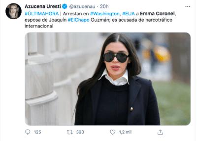Emma Coronel seguirá detenida