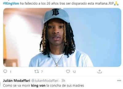 King Von asesinado 1 Atlanta