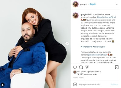 Lupillo Rivera esposa cumpleaños Giselle Soto
