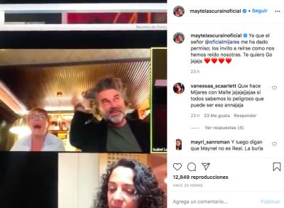 Mijares, Lucero, Pandora (Instagram)