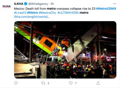 Colapso Metro CdMX