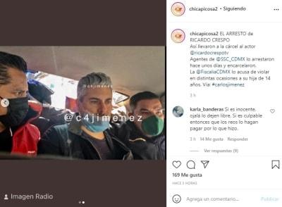 Ricardo Crespo arresto hija 2