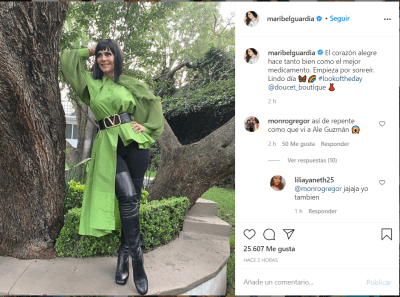 Maribel Guardia causó sustos