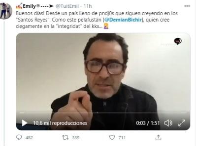 Demián Bichir AMLO 2 Fernanda Familiar