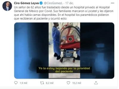 Hospital niega atención paciente 1