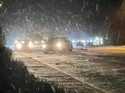 Black Ice Georgia, Gwinnett, fulton, tormenta invernal