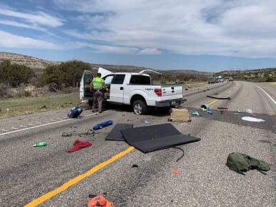 Ocho inmigrantes indocumentados fallecieron en un accidente en Texas de acuerdo al reporte de diversas autoridades.