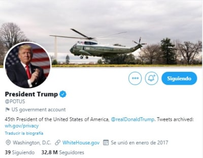 Twitter Trump Biden cuenta, Joe Biden, Donald Trump