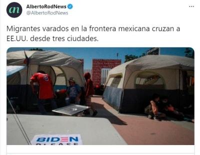 Tres estados fronterizos migrantes Estados Unidos