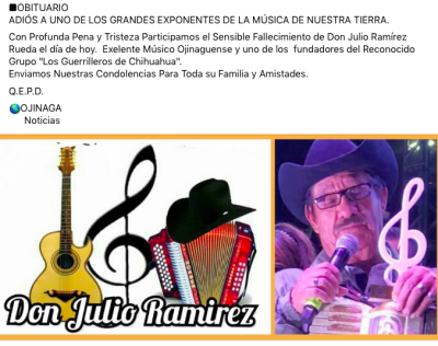 Julio Ramírez Rueda (FB)