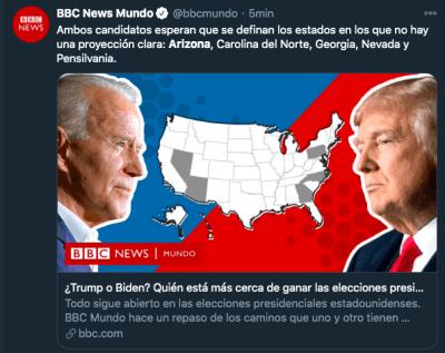 Arizona Biden ventaja